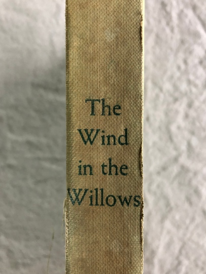 Wind in the Willows Spine
